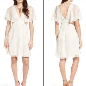 NWT ASTR the Label Cutout Short Sleeve Dress